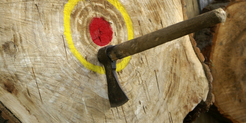 Axe Throwing in Hickory, North Carolina