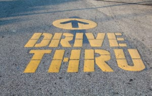 experience the utmost in convenience with our drive-thru convenience store