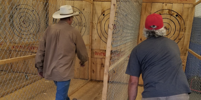 Axe Throwing League in Hickory, North Carolina