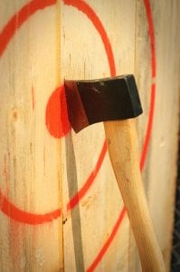 what to expect from your first axe throwing experience