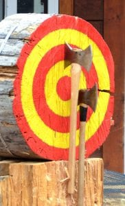 we offer mobile axe throwing packages