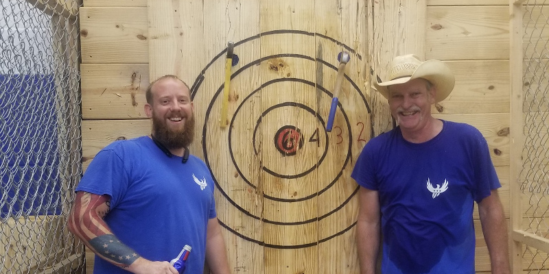 Why Axe Throwing Makes a Great Team Building Activity