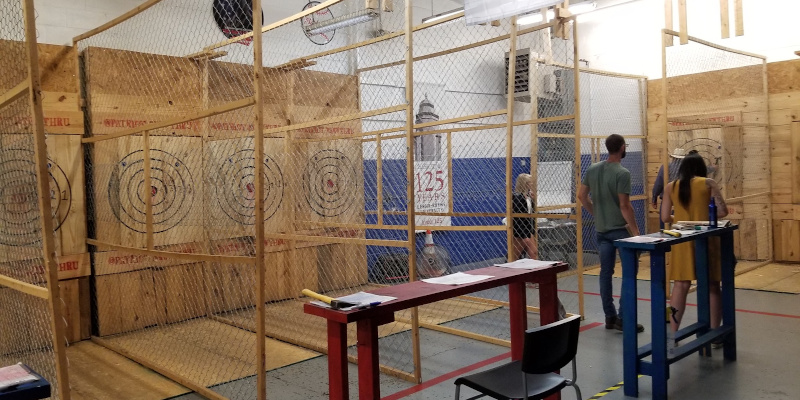 About Patriot Axe Throwing, Hickory, NC