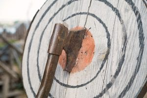 Axe Throwing Is The Perfect Group Activity